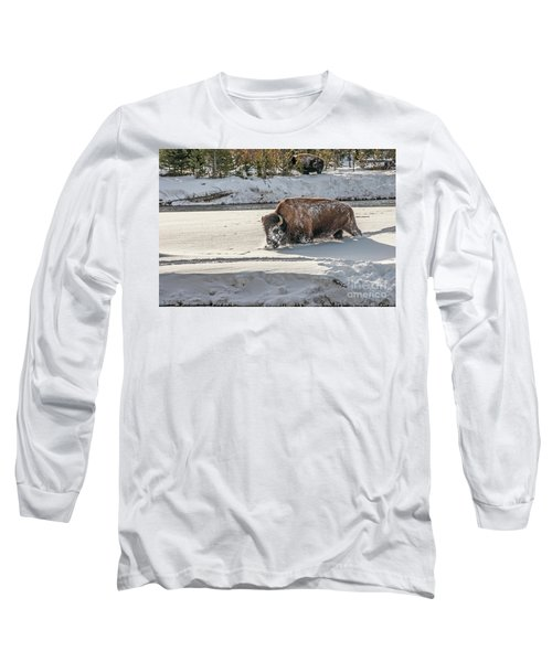 Masked Bison Long Sleeve T-Shirt