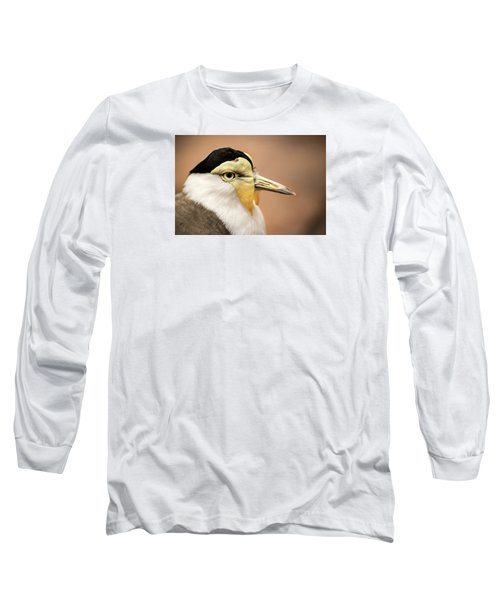 Masked Lapwing Long Sleeve T-Shirt by Don Johnson