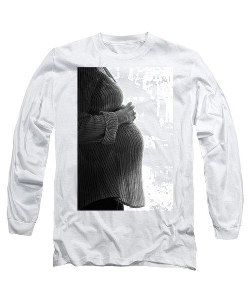 Maternity Silhouette Long Sleeve T-Shirt