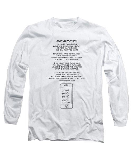 Mathematics Long Sleeve T-Shirt