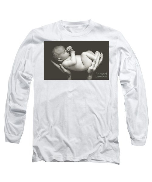 Matte Baby Art Long Sleeve T-Shirt