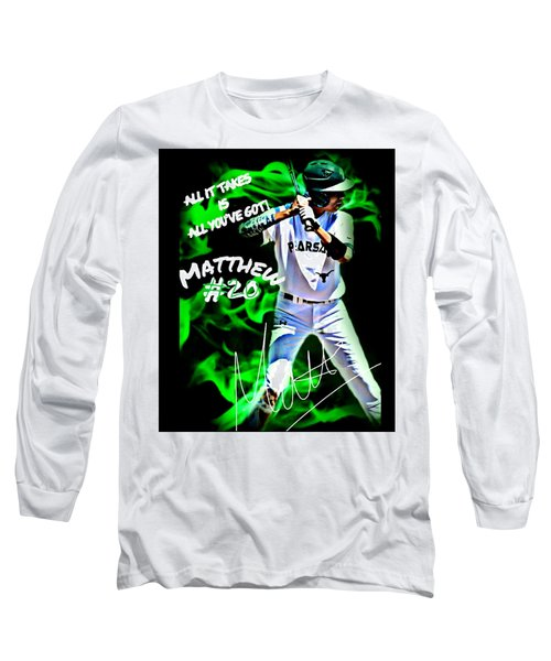 Matthew #20 Long Sleeve T-Shirt