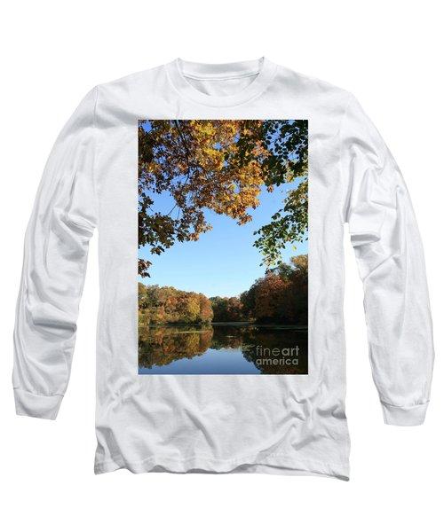 Matthiessen Lake In Autumn Long Sleeve T-Shirt