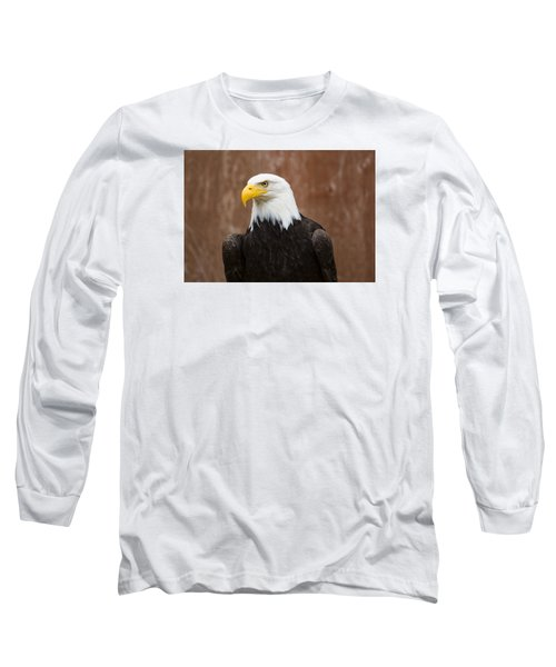 Mature Adult Bald Eagle Long Sleeve T-Shirt
