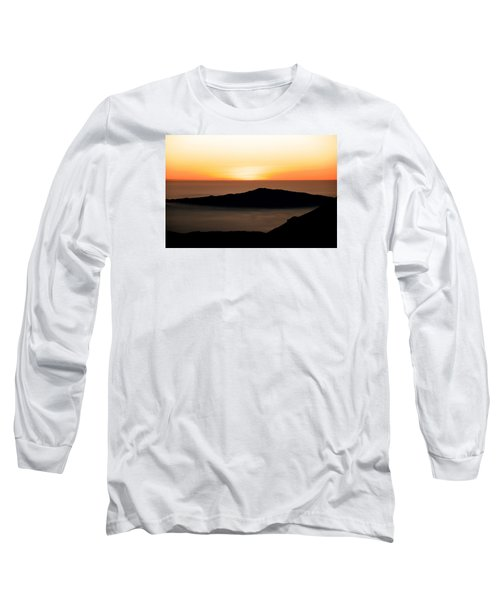 Mauna Kea Sunset Long Sleeve T-Shirt