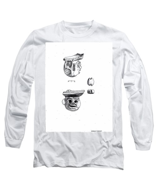 Maya Ceramic Head Long Sleeve T-Shirt