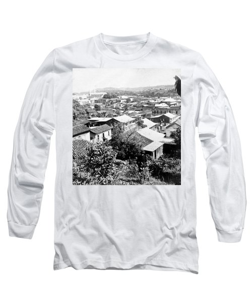 Mayaguez - Puerto Rico - C 1900 Long Sleeve T-Shirt by International  Images
