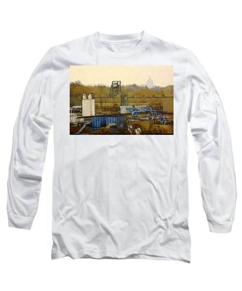 Maynard Steel Long Sleeve T-Shirt