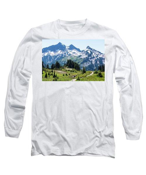 Mazama Ridge And Tatoosh Range Long Sleeve T-Shirt