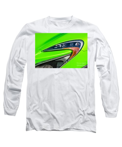 Long Sleeve T-Shirt featuring the photograph Mclaren P1 Headlight by Aloha Art