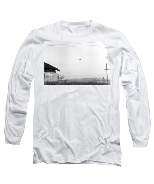 Mcminnville Ufo Sighting, 1950 Long Sleeve T-Shirt