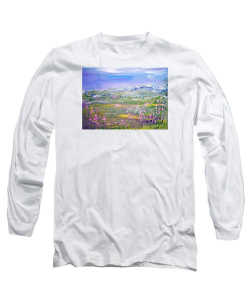 Meadow Sky By Colleen Ranney Long Sleeve T-Shirt