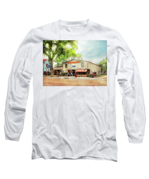 Long Sleeve T-Shirt featuring the photograph Mechanic - All Cars Finely Tuned 1920 by Mike Savad