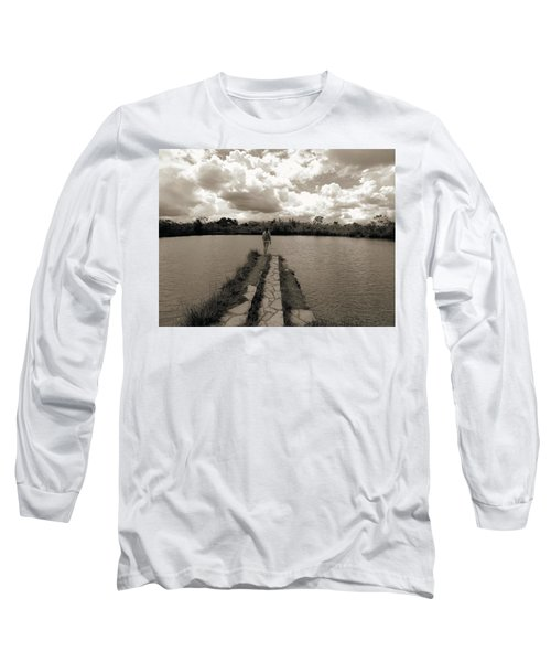 Meditation Long Sleeve T-Shirt by Beto Machado