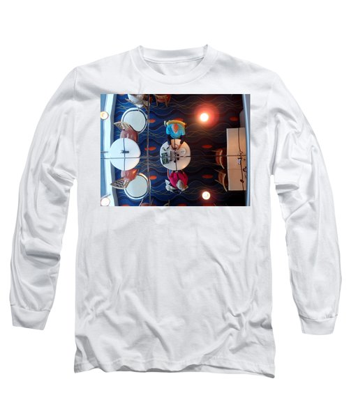 Meeting Under A Mirror Long Sleeve T-Shirt
