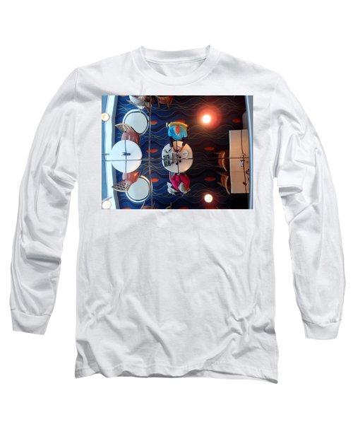 Meeting Under A Mirror Long Sleeve T-Shirt