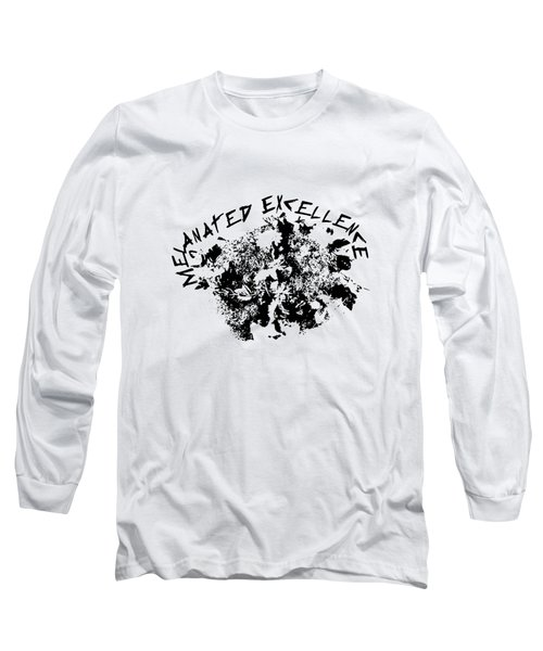 Long Sleeve T-Shirt featuring the painting Melanated Excellence IIi by Alkebulan