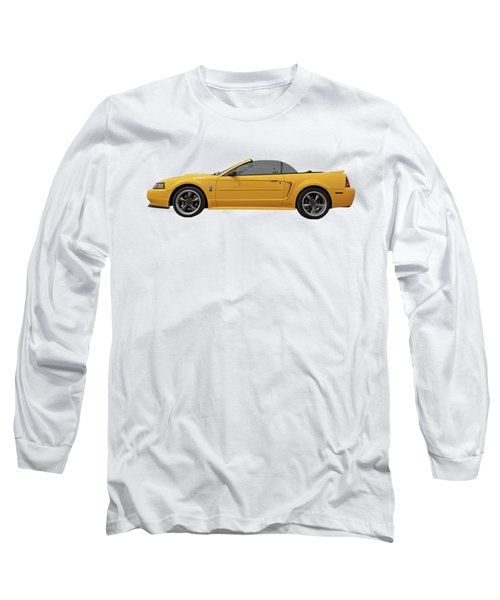 Mellow Yellow 1999 Mustang  Long Sleeve T-Shirt