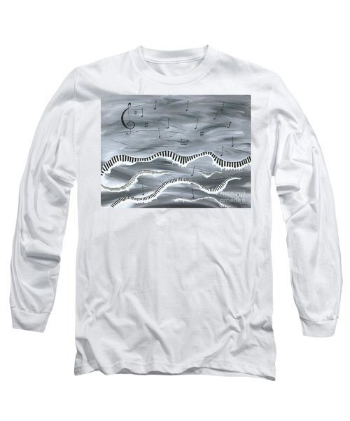 Melody Long Sleeve T-Shirt by Kenneth Clarke