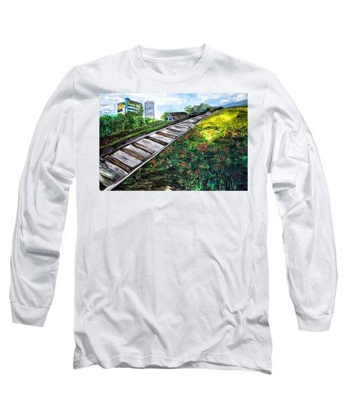 Memories Of Commonwealth Long Sleeve T-Shirt by Belinda Low