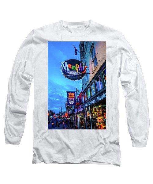 Memphis Soul Long Sleeve T-Shirt