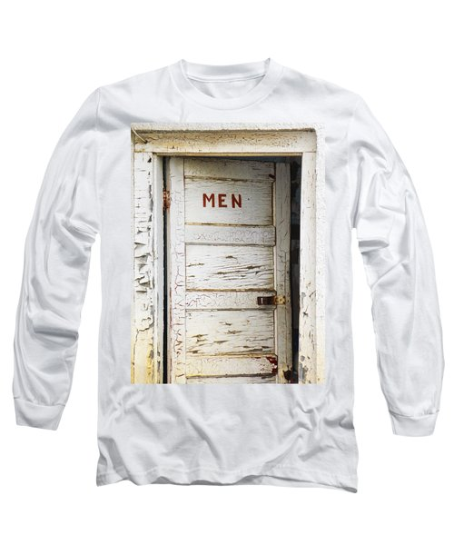 Men's Room Long Sleeve T-Shirt by Marilyn Hunt