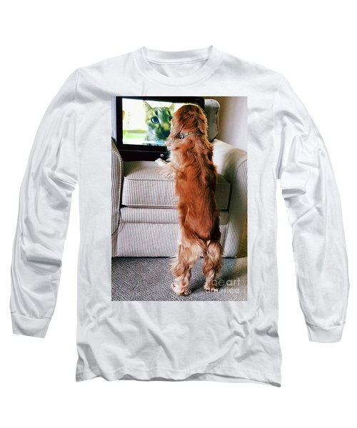 Meow Woof Long Sleeve T-Shirt