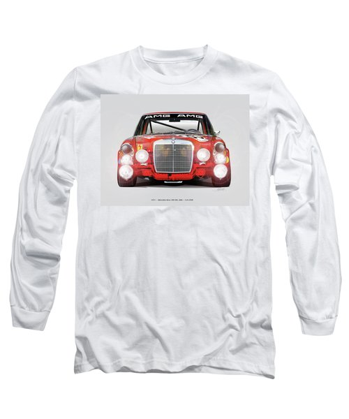 Mercedes-benz 300sel 6.3 Amg Long Sleeve T-Shirt