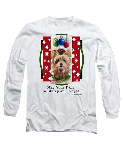 Merry And Bright Long Sleeve T-Shirt