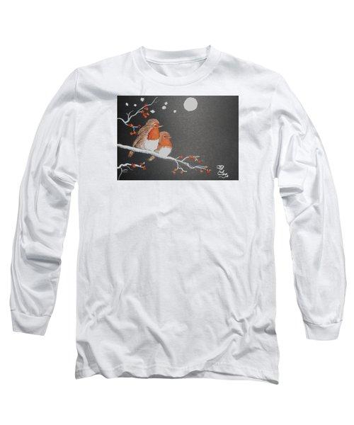Merry Christmas Long Sleeve T-Shirt by Carole Robins