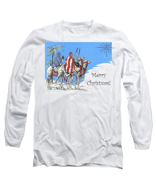Merry Christmas From Bedouins Long Sleeve T-Shirt