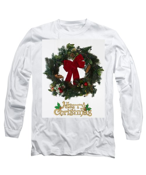 Merry Christmas Long Sleeve T-Shirt by Kenneth Cole
