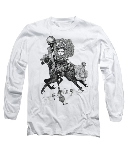 Merry-go-round Girl Long Sleeve T-Shirt