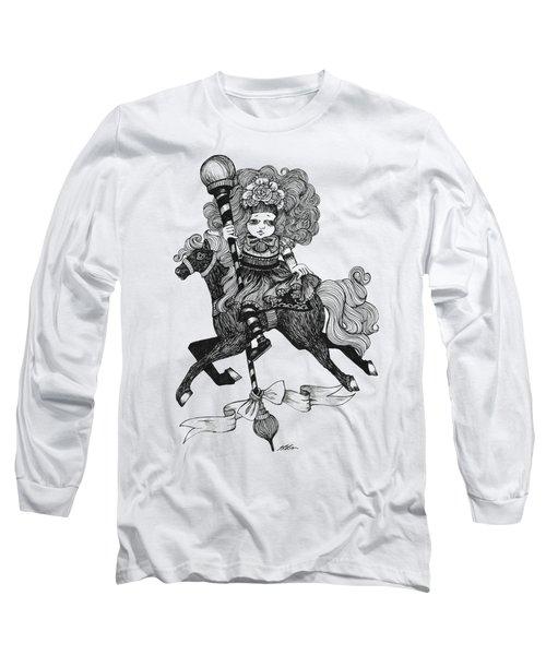 Merry-go-round Girl Long Sleeve T-Shirt