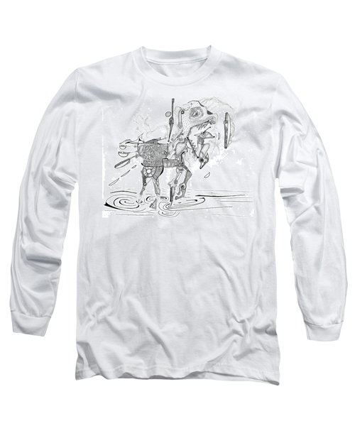 Merry-go-round Horse Long Sleeve T-Shirt