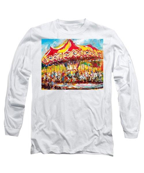 Merry-go-round Long Sleeve T-Shirt