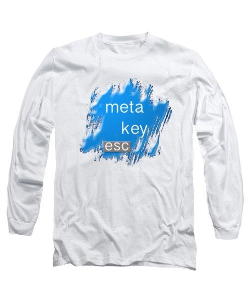 Meta Key Esc Long Sleeve T-Shirt
