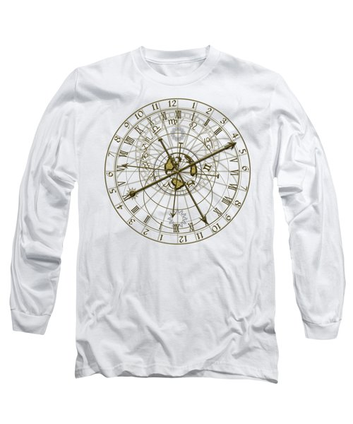 Metal Astronomical Clock Long Sleeve T-Shirt