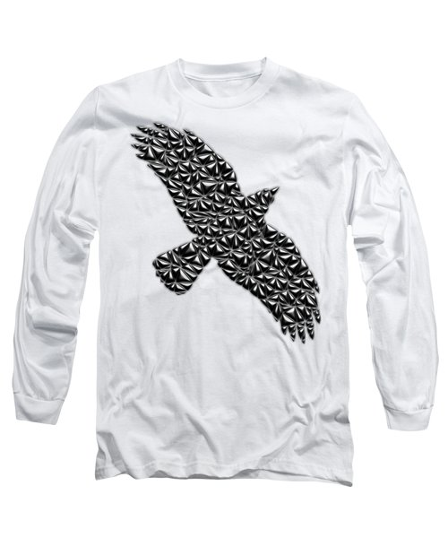 Metallic Crow Long Sleeve T-Shirt