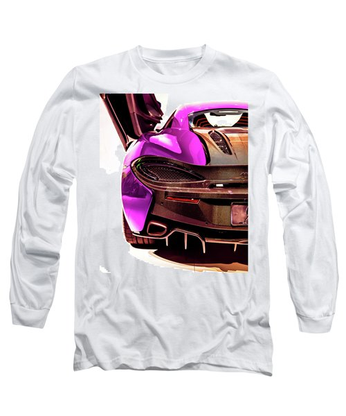 Long Sleeve T-Shirt featuring the photograph Metallic Heartbeat by Karen Wiles