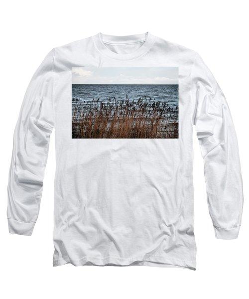 Metallic Sea Long Sleeve T-Shirt
