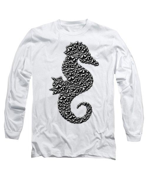 Metallic Seahorse Long Sleeve T-Shirt