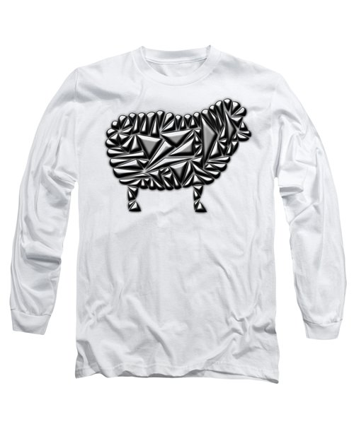 Metallic Sheep Long Sleeve T-Shirt
