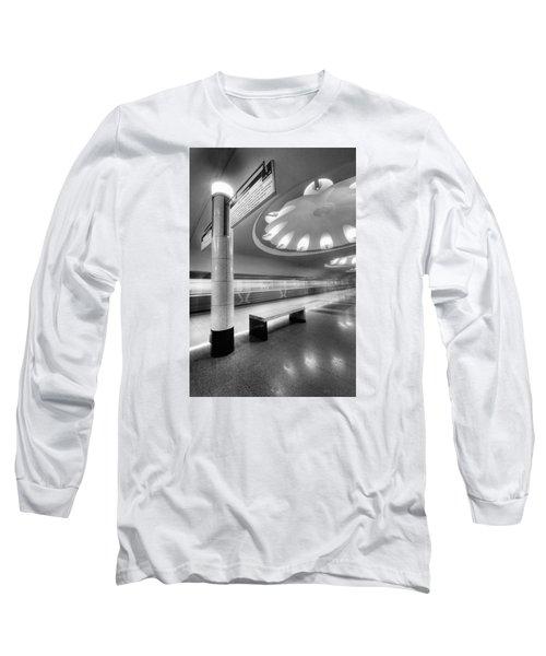 Metro #1591 Long Sleeve T-Shirt by Andrey Godyaykin