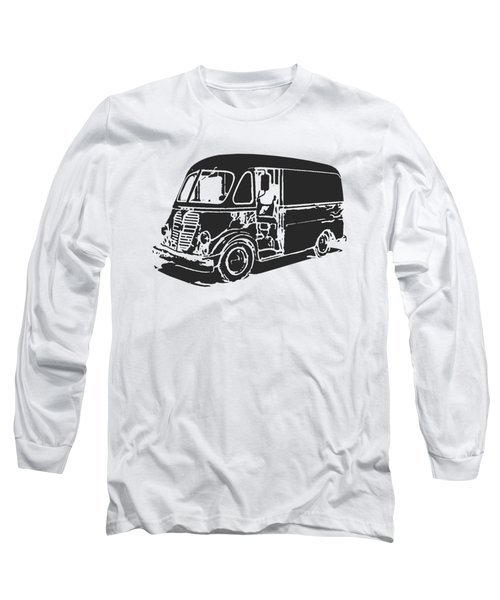 Metro Step Van Tee Long Sleeve T-Shirt by Edward Fielding