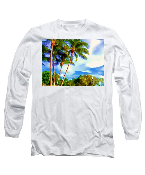 Miami Maurice Gibb Memorial Park Long Sleeve T-Shirt