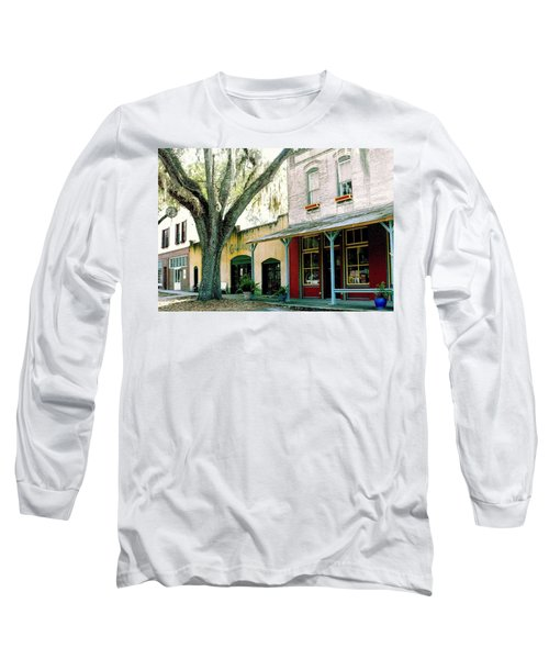 Micanopy Storefronts Long Sleeve T-Shirt