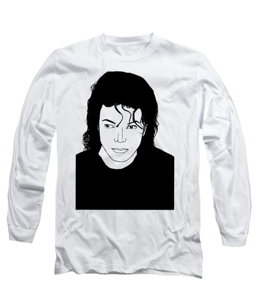 Michael Jackson Long Sleeve T-Shirt by Lionel B