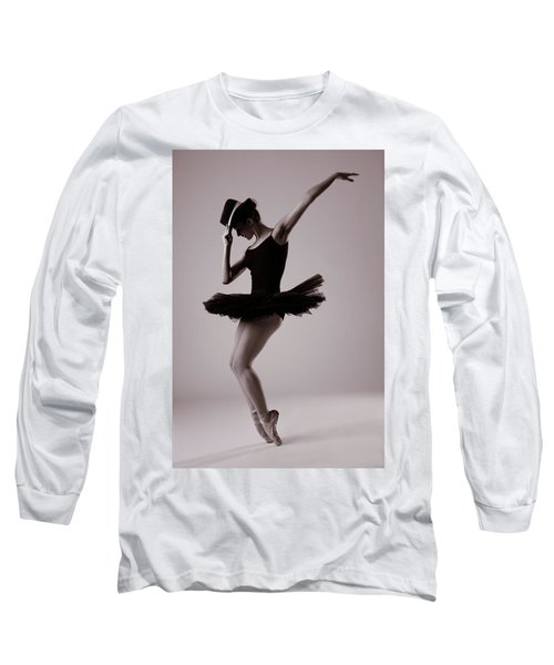 Michael On Pointe Long Sleeve T-Shirt