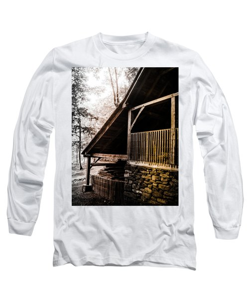 Michie Tavern No. 5 Long Sleeve T-Shirt by Laura DAddona